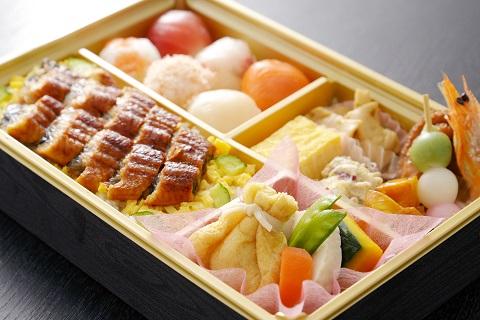 手まり寿司と鰻ちらし【弥生】