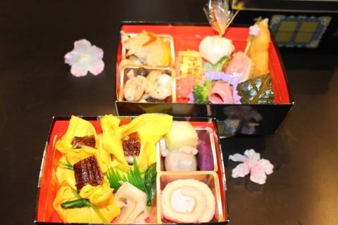 茶巾寿司のお弁当